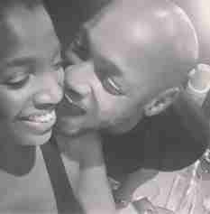 Actress Annie Idibia And Tuface In Loved Up Photo